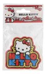 Hello Kitty - Soft Touch PVC Magnet