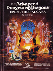 1st Edition (Advanced D&D) - Unearthed Arcana (Acceptable)