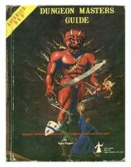 1st Edition (Advanced D&D) - Dungeon Master's Guide (Acceptable)