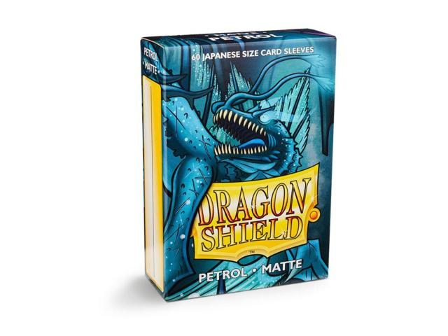 Dragon Shield Sleeves: Japanese Matte Petrol (Box Of 60)