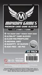 Mayday Games - Dwarf King French Tarot Sized Premium Sleeves 50 count