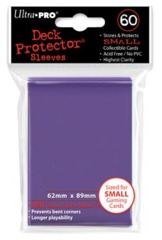 Ultra Pro - Solid Purple 60 Count Mini Sleeves (82971)