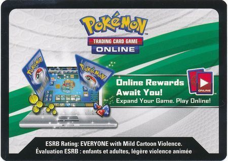 Sun & Moon: Unified Minds Unused Build & Battle Box Code Card (Pokemon TCGO)
