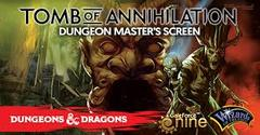 Dungeon Master's Screen - Tomb Of Annihilation
