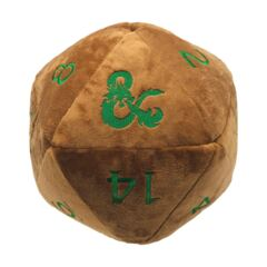 Ultra Pro - Jumbo D20 Novelty Dice Plush (Copper with Green)