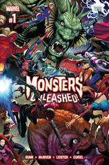 Monsters Unleashed (Complete 5-Issue Mini Series)