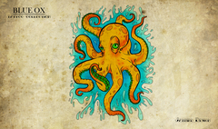 Blue Ox Games - Tattoo Collection: New School Octopus