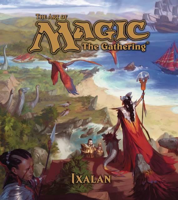 Art Of Magic The Gathering Hardcover Ixalan
