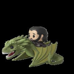 Jon Snow & Rhaegal #67