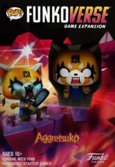 POP! Funkoverse Strategy Game - Aggretsuko 100 Expandalone 2 Pack
