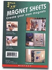 Magnet Sheets (2 pack) 6 x 9