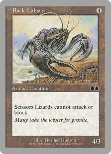 Rock Lobster, Paper Tiger, & Scissors Lizard Set