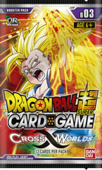Dragon Ball Super TCG - Cross Worlds Booster Pack (B03)