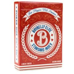 Brybelly - Brybelly Elite Standard Index Deck (Red)