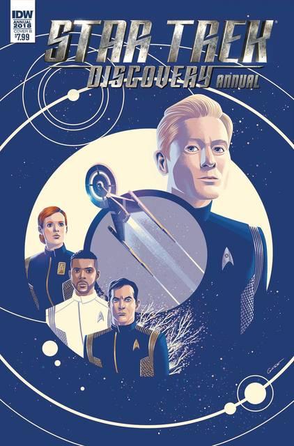 Star Trek: Discovery Annual #1 (Cover B - Caltsoudas)