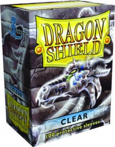 Dragon Shield - Clear 100 Count Standard Sleeves