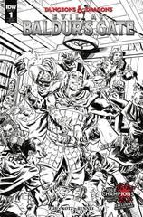 Dungeons & Dragons: Evil At Baldur's Gate #1 (10 Copy Incentive Variant)