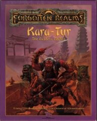 1st Edition (Advanced D&D) - Forgotten Realms: Kara-Tur, The Eastern Realms Box Set (Acceptable)