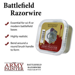 Army Painter - Battlefields Basing: Razorwire (BF4118)
