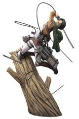 Kotobukiya - Attack on Titan Levi ArtFX J Statue