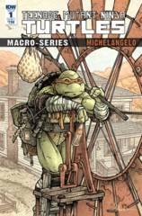 Teenage Mutant Ninja Turtles Macroseries #2 Michelangelo (Cover A - Petersen)