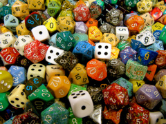Assorted Dice - Random