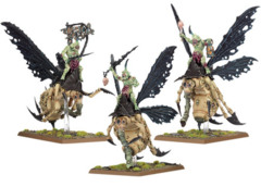 Daemons of Chaos Plague Drones of Nurgle (97-21)