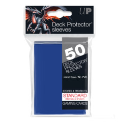 Ultra Pro - Solid Blue 50 Count Standard Sleeves (82670)