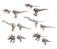 Jurrasic Park - 3-D Dinosaur Earrings 3 pack