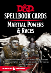 Dungeons & Dragons: Updated Spellbook Cards - Martial Powers & Races Deck