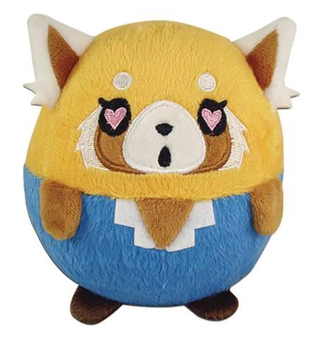 Aggretsuko - Retsuko Heart Eyes 4in Ball Plush