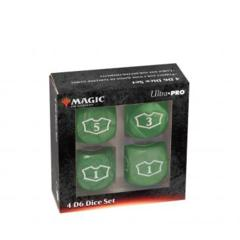 Ultra Pro - Magic: The Gathering 22MM Loyalty Dice Set: Green Mana (86830)