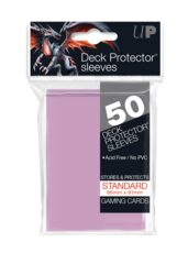 Ultra Pro - Solid Bright Pink 50 Count Standard Sleeves (15257)