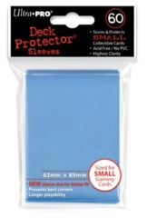 Ultra Pro - Solid Light Blue 60 Count Mini Sleeves (82972)