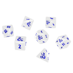 Ultra Pro - Dungeons & Dragon Icewind Dale Heavy Metal 7 Dice RPG Set (18355)