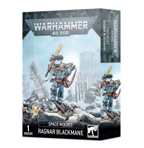 Space Wolves - Ragnar Blackmane (53-30)
