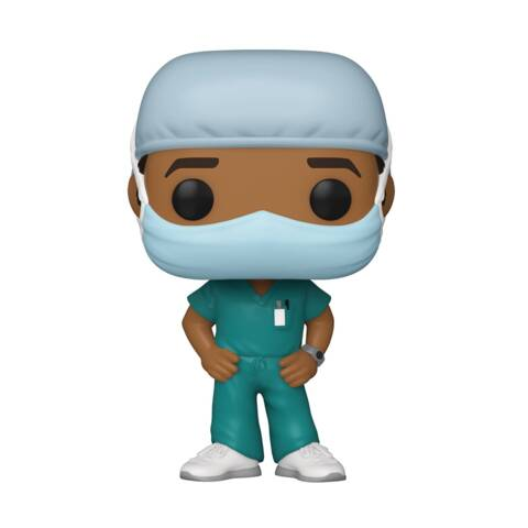 Pop! Vinyl - Frontline Heroes (Line Worker Male #2)