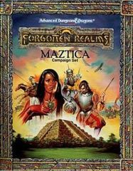 2nd Edition - Forgotten Realms: Maztiza Campaign Set (Good)