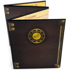 Stratagem - The Master's Tome Customizable GM Screen (Black)