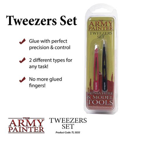 Army Painter - Tweezers Set (TL5035)