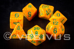 7-die Polyhedral Set - Speckled Lotus - CHX25312