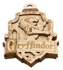 Harry Potter - Emblematics Gryffindor Wood Decoration