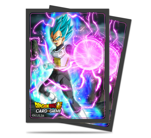 Ultra Pro - Dragon Ball Super God Charge Vegeta 65 Count Standard Sleeves (85775)