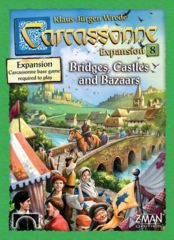 Carcassonne: Bridges, Castles & Bazaars (Expansion 8)