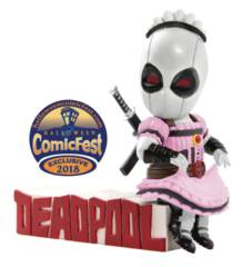Mini Egg Attack - Deadpool Servant PX X-Force Figure Halloween Comicfest 2018