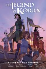 Legend Of Korra:  Ruins Of Empire Library Edition Hardcover