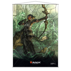 Ultra Pro - Stained Glass Planeswalkers Wall Scroll - Vivien (18173)