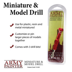 Army Painter - Miniature and Model Drill (TL5031)