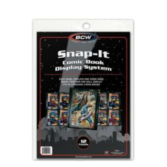 BCW - Snap-It Comic Book Display System