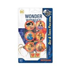 DC - Wonder Woman 80th Anniversary Dice & Token Pack